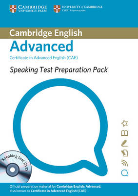 Speaking Test Preparation Pack for CAE Paperback with DVD - Speaking Test Preparation Pack