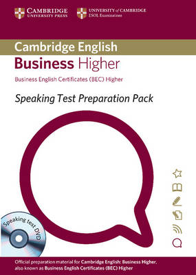 Speaking Test Preparation Pack for BEC Higher Paperback with DVD - Speaking Test Preparation Pack