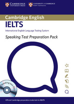 Speaking Test Preparation Pack for IELTS Paperback with DVD - Speaking Test Preparation Pack