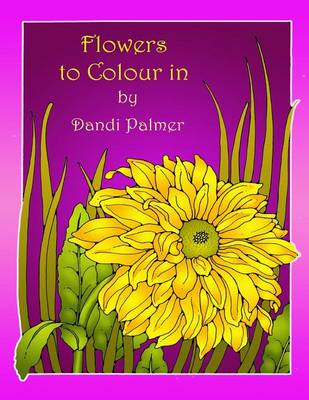 Flowers to Colour in (Paperback)