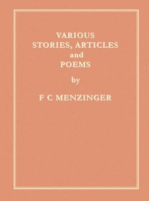 Various Stories, Articles and Poems (Paperback)