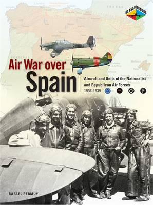 Air War Over Spain (Paperback)