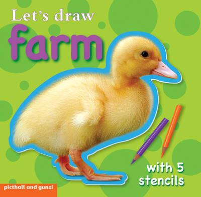 Lets' Draw - Farm - Stencil Board Books (Board book)