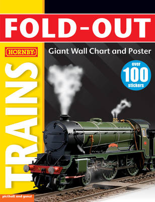 My Hornby Trains - Fold-Out Poster Sticker Books (Paperback)