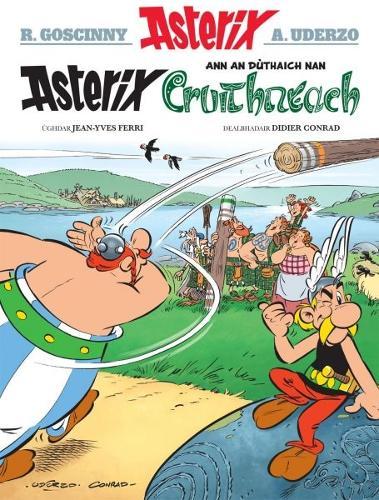 Asterix ann an Duthaich nan Cruithneach (Paperback)