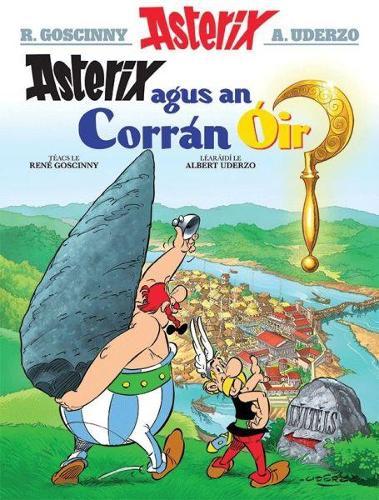 Asterix Agus an Corran OIr (Irish) (Paperback)