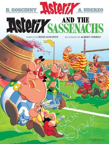 Asterix and the Sassenachs (Scots) (Paperback)