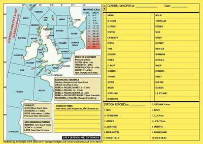 Shipping Forecast Sheet
