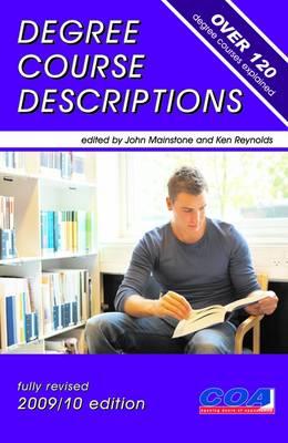 Degree Course Descriptions: Over 120 Degree Courses Explained (Paperback)
