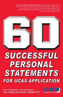 60 Successful Personal Statements (Paperback)
