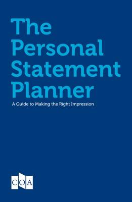 Personal Statement Planner (Paperback)