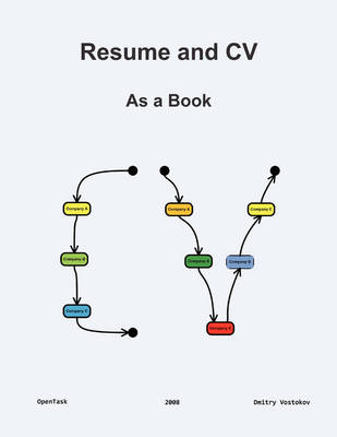 Resume and CV: As a Book (Paperback)