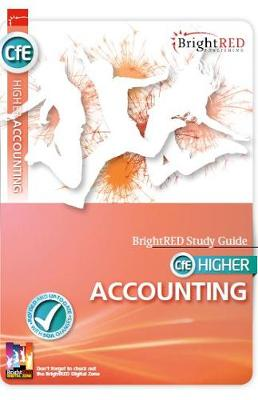 CfE Higher Accounting Study Guide - Bright Red Study Guide (Paperback)