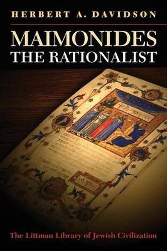Maimonides the Rationalist - Littman Library of Jewish Civilization (Paperback)