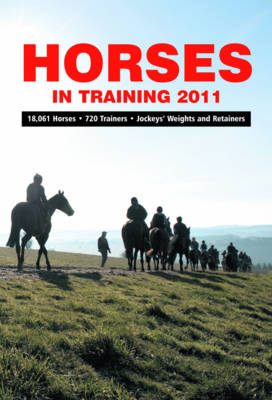Horses in Training 2011 (Paperback)
