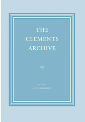 The Clements Archive (Hardback)