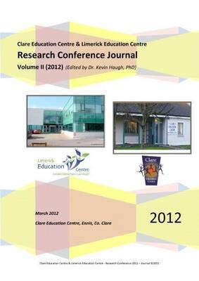 2012 Research Conference Journal: Volume II (Paperback)
