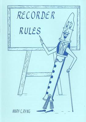 Recorder Rules (Paperback)