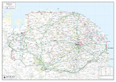 Norfolk County Planning Map: No. 1A (Sheet map, rolled)