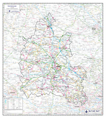 Oxfordshire County Planning Map (Sheet map, rolled)