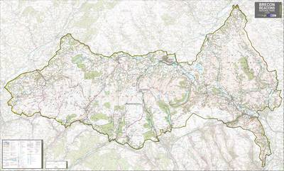 Brecon Beacons National Park: National Park Planning Map (Sheet map, rolled)