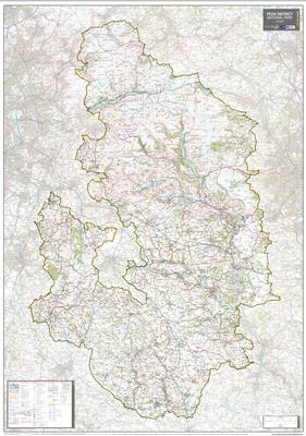 Peak District National Park: National Park Planning Map (Sheet map, rolled)