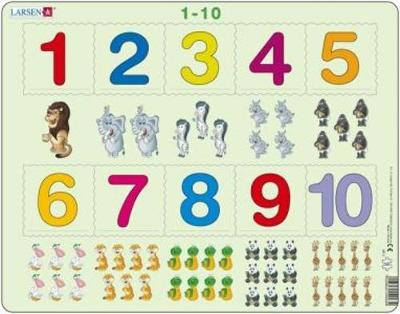Jig-So Rhifau 1-10/Numbers 1-10