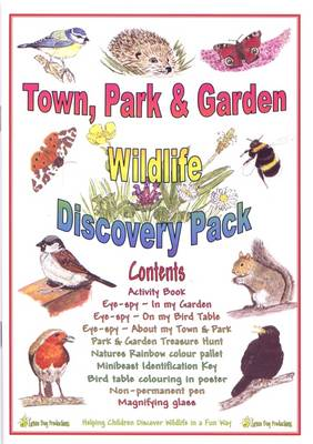 Town, Park and Garden Wildlife Discovery Pack