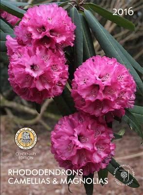 Rhododendrons Camellias & Magnolias 2016 (Paperback)