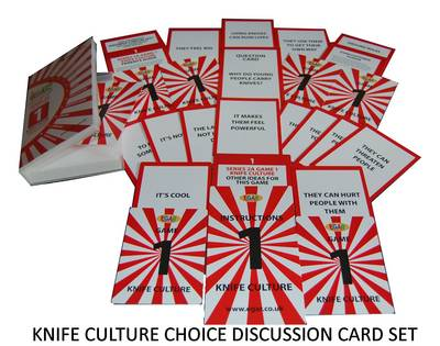 Knife Culture - EGAR Choice Discussion Cards: Series 2A - Crime Prevention 1