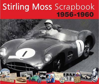 Stirling Moss Scrapbook 1956 - 1960 - Original Scrapbook (Hardback)