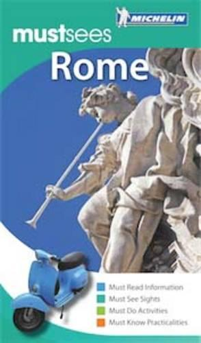 Rome Must Sees Guide - Michelin Must Sees (Paperback)