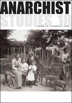 Anarchist Studies: 18.2 (Paperback)