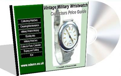 Vintage Military Wristwatch Collectors Price Guide (CD-ROM)