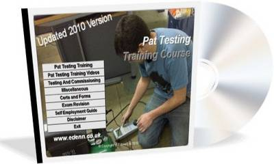 Pat Testing Training Guide 2010: Portable Appliance Testing Training Guide (CD-ROM)