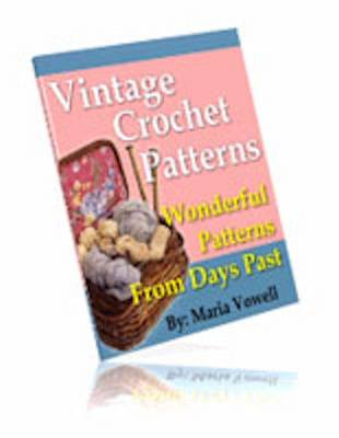 20 Wonderful Vintage Crochet Patterns (CD-ROM)