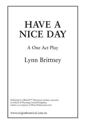 Have a Nice Day (Paperback)
