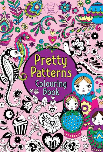 Pretty Patterns Colouring Book (Paperback)