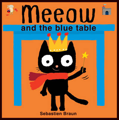 Meeow and the Blue Table (Board book)