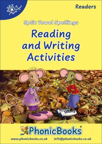 Split Vowel Spellings Workbook - Dandelion Readers (Spiral bound)