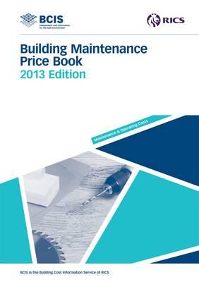 Building Maintenance Price Book 2013 (Paperback)