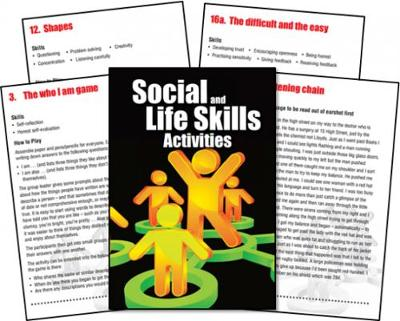 Activities for Social and Life Skills Cards