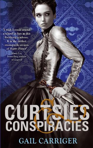 Curtsies and Conspiracies: Number 2 in series - Finishing School (Paperback)