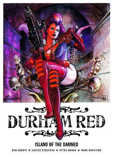 Durham Red: Island of the Damned (Paperback)