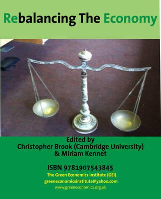 Rebalancing the Economy (Paperback)