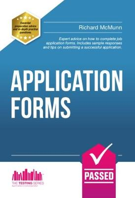 How to Pass Application Forms: Sample Questions and Answers - Testing Series (Paperback)