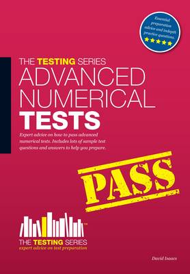 Advanced Numerical Reasoning Tests: Sample Test Questions and Answers - Testing Series (Paperback)