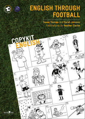 English Through Football - Copykit English Series (Paperback)