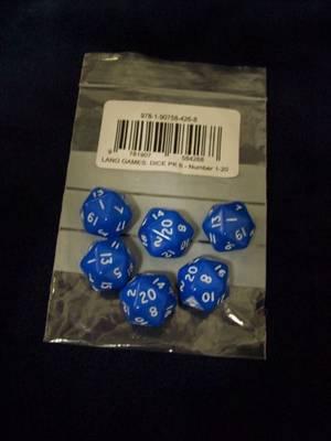 Dice - Numbers 1 - 20: Numbers 1-20 - Mini Flashcards Language Games