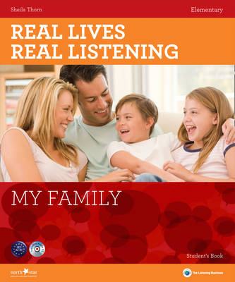 Real Lives, Real Listening: My Family - Elementary Student's Book + CD (CD-Audio)